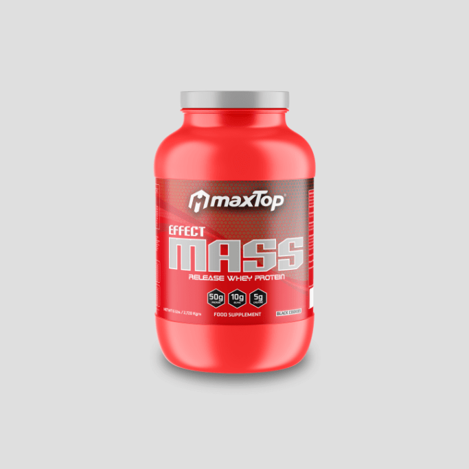 Effect Mass - Black Cookies - Gainer y carbohidratos