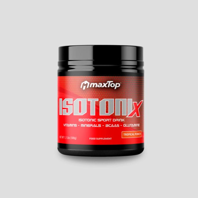 IsotoniX - Tropical Punch - - Aminoácidos y recuperación
